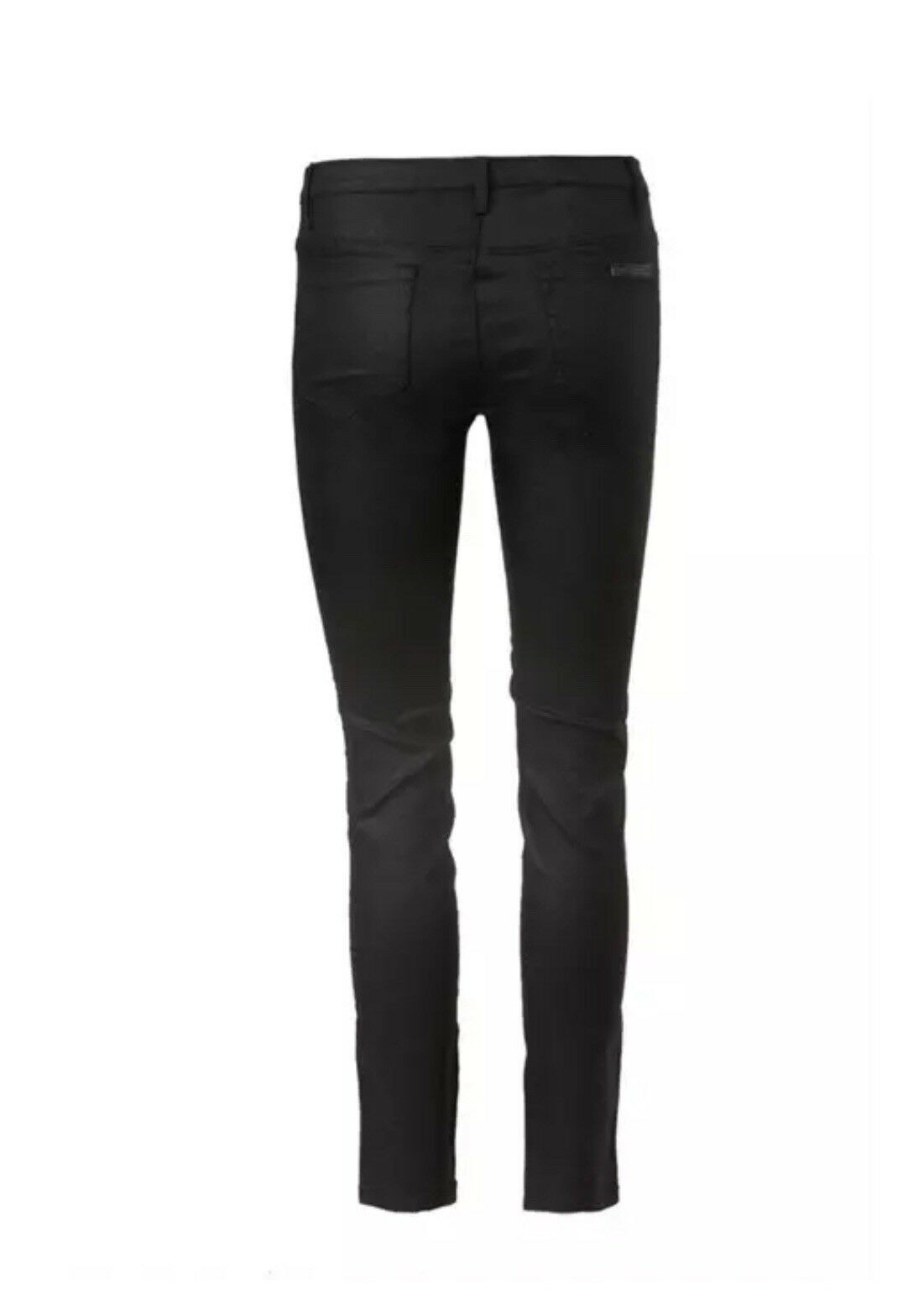 Sass & Bide HULSEY STRUTTERS High Rise Wax Coated Skinny Crop Jeans 24 NEW