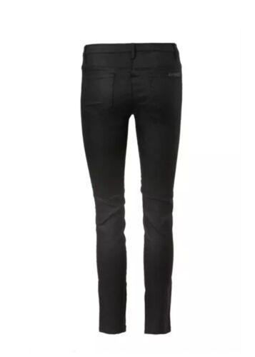 Hulsey Jeans Rise 240 Skinny 9332809580171 Crop 24 Ny Sass Coated Strutters High Bide Wax Cwqazq5