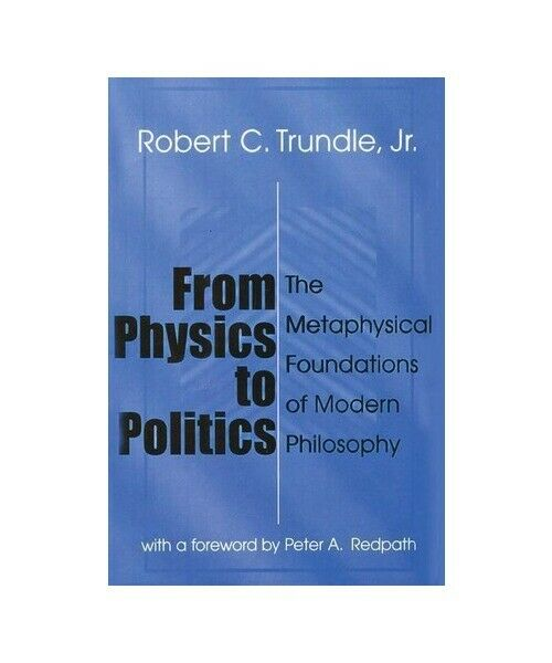 """Robert Trundle """"From Physics to Politics"""""""
