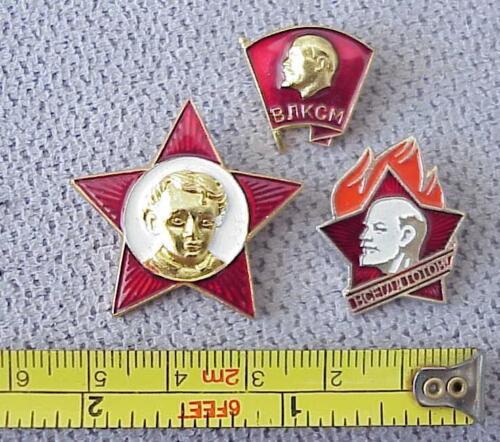 RUSSIAN VLKSM OKTYABRENOK SOVIET AWARD PIN BADGE MEDAL ORDER YOUNG KGB ARMY WAR