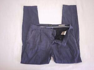 Antony Morato Para Hombre Talla 36 32 Desde Entrepierna Havel Zanahoria Jeans Pantalones Gris Carbon Ebay