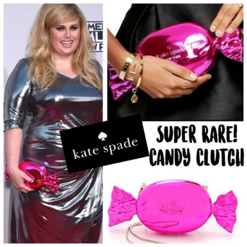 Kate Spade Whimsie Metallic Pink Candy Wrapper Clu
