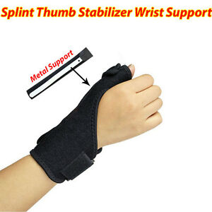 how to make thumb spica splint