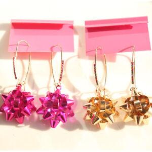 New-Betsey-Johnson-Drop-Dangle-Earrings-Fashion-Women-Jewelry-2Colors-Chosen