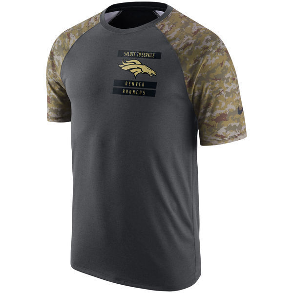 Nike Men s Dri-fit NFL Salute to Service Denver Broncos On-field T Shirt  Small for sale online  dd7bfee7f
