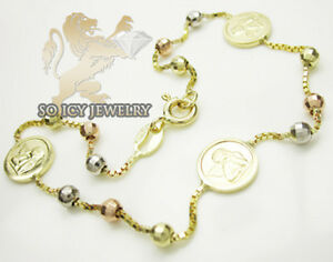 Image Is Loading 3 70 Grams Las 14k Yellow Gold Rosary