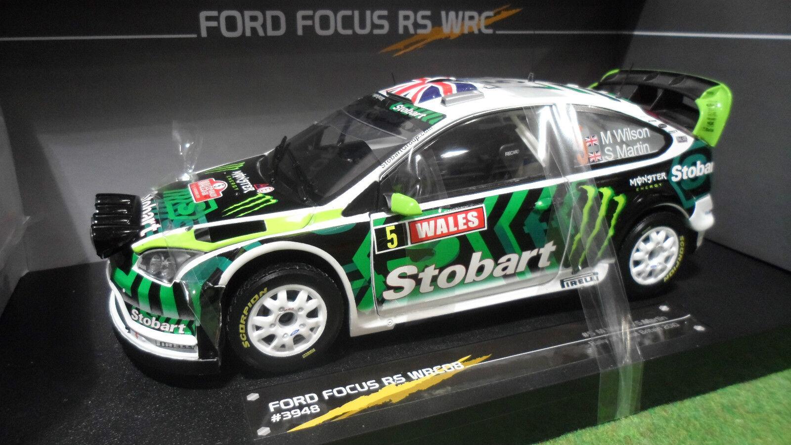 Envío y cambio gratis. FORD FOCUS RS WRC08 RALLYE GREAT GREAT GREAT BRITAIN 1 18 SUN Estrella SUNEstrella 3948 voitur Rally  tienda de venta en línea
