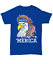 039-Merica-4th-Of-July-Bald-Eagle-T-Shirt-USA-Patriotic-American-Flag-Mullet-Tee miniature 5