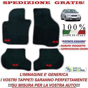 Tappeti-Audi-A3-8L-Tappetini-Auto-Personalizzati-Scegli-i-Colori-e-la-Qualita