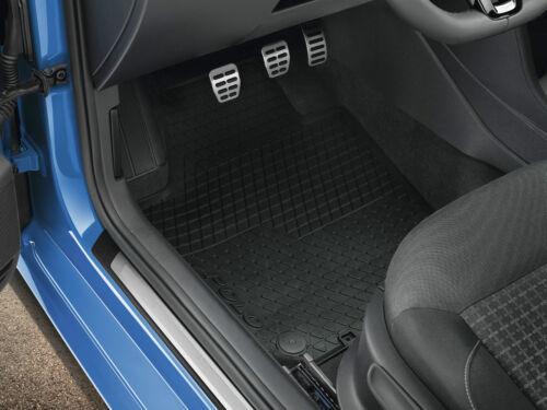 Original Polo V 6R 6C GTI Tuning Fußmatten VW Gummi Matten v+h Gummimatten Satz