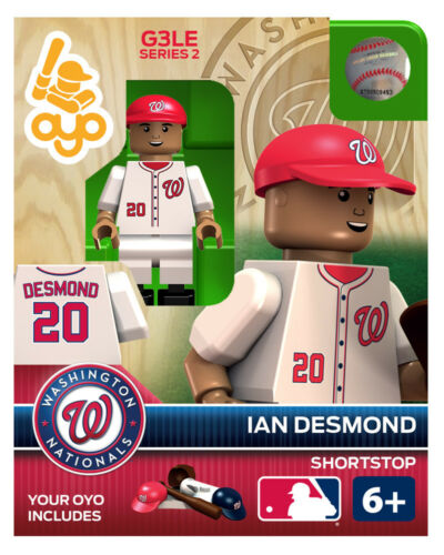 Ian Desmond OYO Washington Nationals MLB Mini Figure NEW G3 RARE