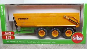 Siku DREIACHS MULDENKIPPER JOSKIN FARMER SERIE 1:32 NEU OVP 2892 Spielzeugautos