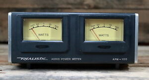 Realistic-Stereo-Audio-Power-Meter-Model-APM-100