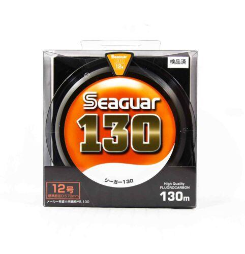 Seaguar 130 Fluorocarbon Leader Ligne 130m Size 12 40lb 0363