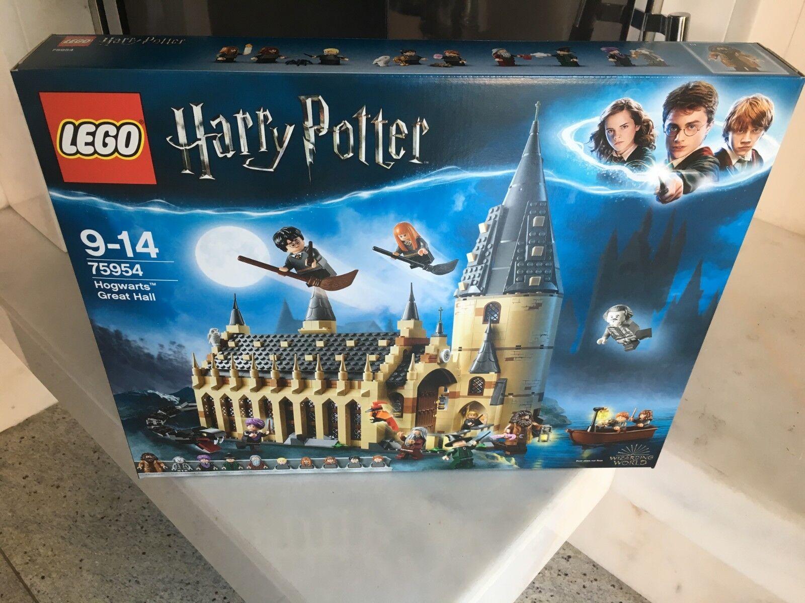 Lego Harry Potter 75954 gran sala de castillo Hogwarts OVP 835 piezas