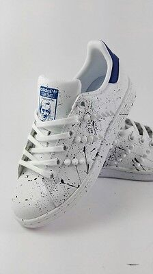 grandi affari 2017 ufficiale varietà larghe Adidas Stan Smith Shoes with Studded spraying | eBay