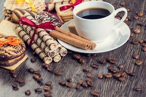 Image result for coffee and biscuits 300x200