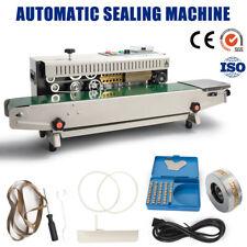 Fr900 Continuous Sealing Machine Horizontal Sealer Membrane Bag Film Band Sealer