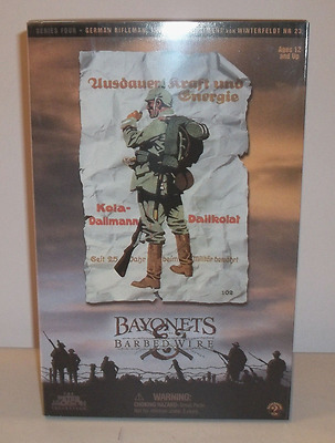 Sideshow Collectibles, Bayonets & Barbed Wire, WWI German Rifleman NR 23