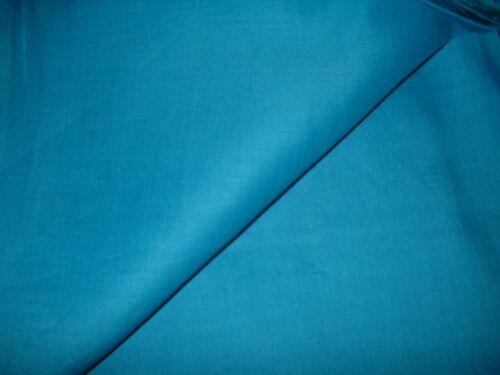 RARE COBALT BLUE FINE 100/% PURE IRISH LINEN FABRIC GARMENT QUALITY 140CM 136GSM