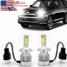 For Toyota 4Runner 2002-1999 LED Headlight Kit 2xH4 High Low Beam Bulbs 9003