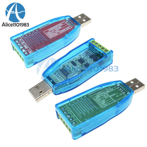 Industrial RS485 Converter USB to RS485//RS485+RS422 Converter Upgrade Protection