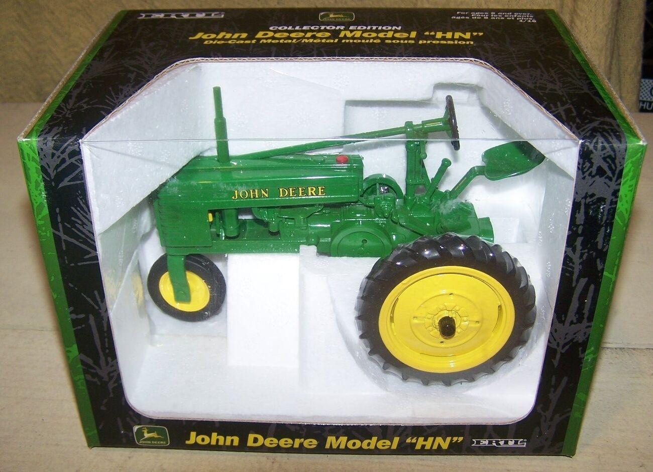 venta directa de fábrica John Deere hn Tractor Tractor Tractor de Juguete de edición de coleccionista  hasta un 65% de descuento