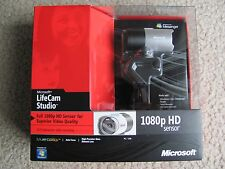 Brand New Microsoft LifeCam Studio Full 1080P HD Sensor Webcam Q2F-00001