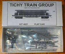 Tichy Train Group #4021 40' 50-Ton AC&F Flatcar - Kit -- Undecorated