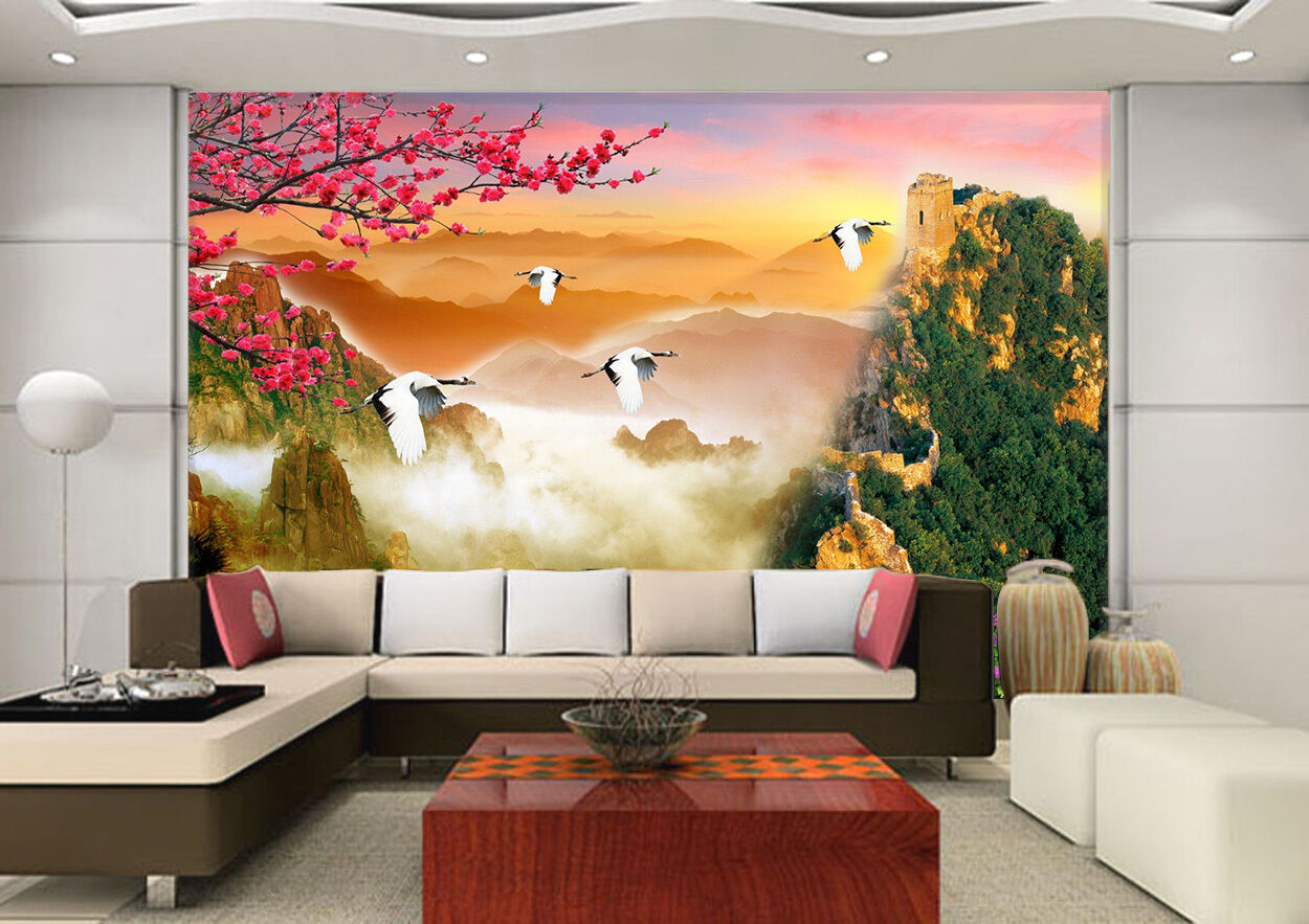 3D Wonderland 345 Wall Paper Print Wall Decal Deco Indoor Wall Murals