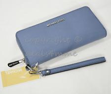 a0972d1b940a item 4 Michael Kors Jet Set Travel Continental Wallet in Denim Blue  Saffiano Leather -Michael Kors Jet Set Travel Continental Wallet in Denim  Blue Saffiano ...