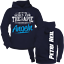 Hoodie other go to therapy I Fishing Hoodie Fish Angler Hobby