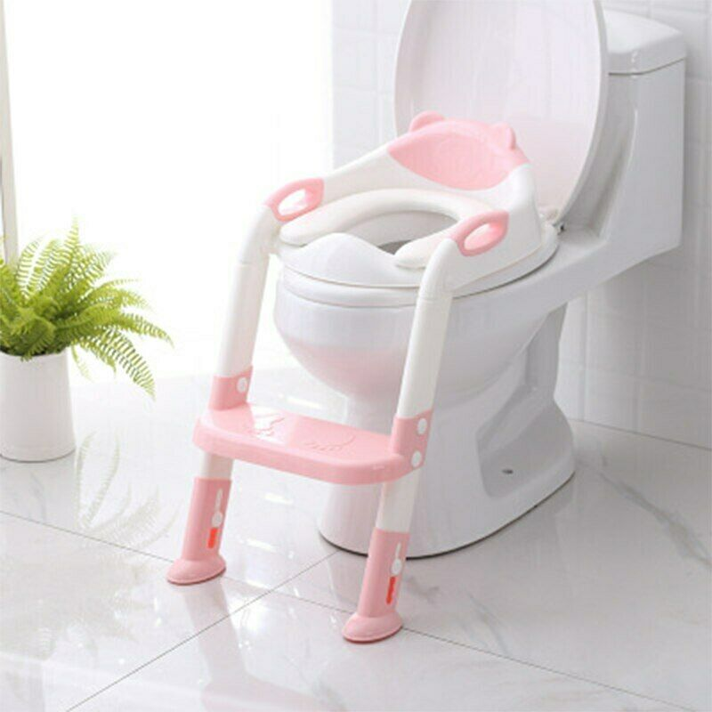 2 Colors Folding Baby Potty Infant Kids Toilet Training
