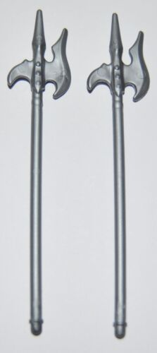 knight lance 273621 large spear halberd blade silver 2u playmobil medieval