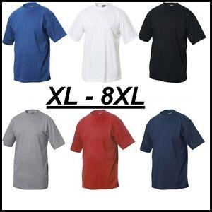 no maxfort t-shirt maglietta uomo taglie forti 100% cotone over size fino 8xl