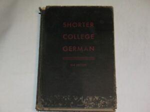 Shorter-college-German-Hardcover-1949-by-Marshall-Blakemore-Evans