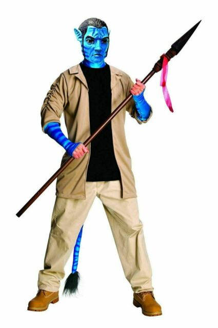 Jake Sully Deluxe Costume for Adults - Avatar
