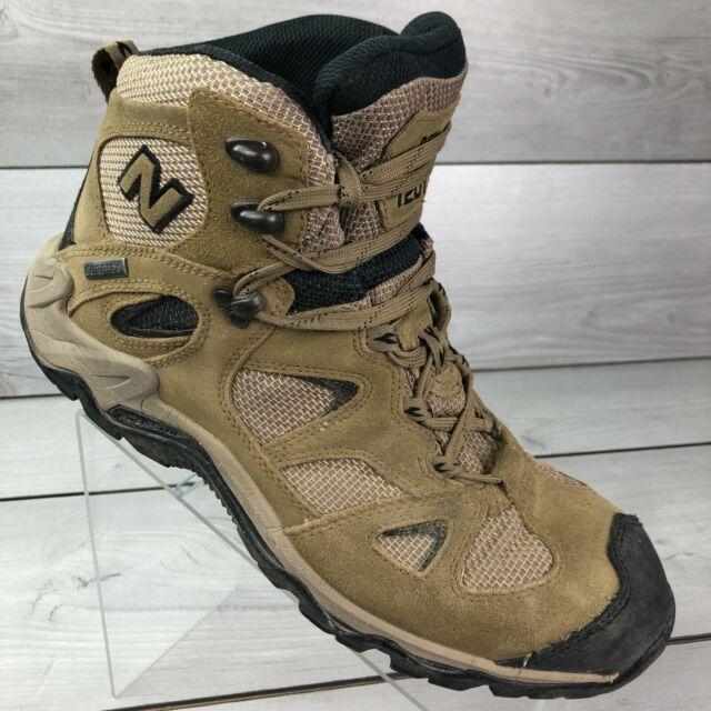 New Balance Mens Terra Stryder Gore-Tex Vibram Soles Brown Hiking Boots Sz 11 D