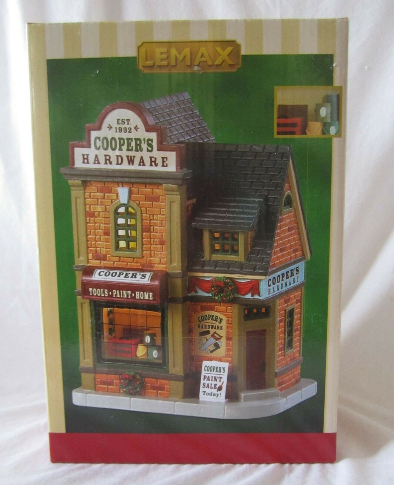 Lemax Christmas Village COOPER'S HARDWARE     85415 @2018 NEW f00383