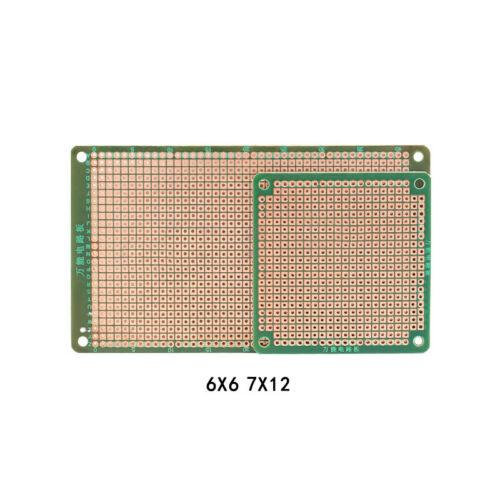 HB Bakelite Universal Circuit Board Single-Side PCB Board 6x6//7x12cm Thick 1.6mm