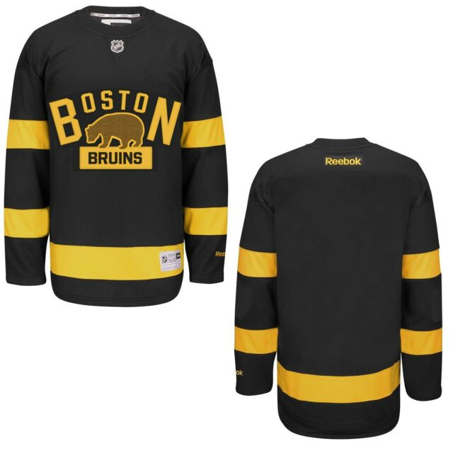 on sale 7e707 ec4d7 Boston Bruins Black 2016 Winter Classic Premier Team Jersey