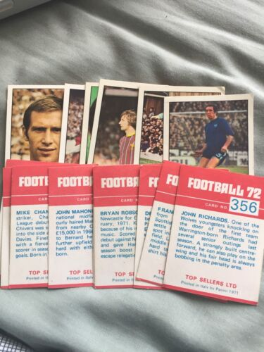 VGC choose from selection complete your album Panini Football 72 Cards