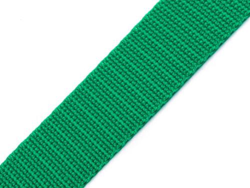 Trageriemen Taschengurt 25 Meter Gurtband 20mm Polyamid