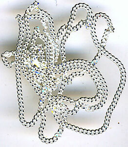 24-034-Sterling-Silver-Diamond-Cut-Curb-Chain-approximately-24-034-610mm