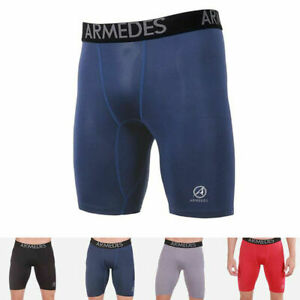 ARMEDES-Men-039-s-Compression-Pants-Baselayer-Cool-Dry-Sports-Leggings-Shorts-181