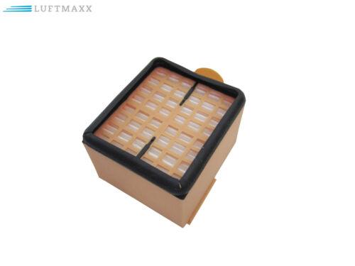 2 x Hepafilter Microfilter U FILTRI MOTORE ADATTO PER VORWERK FOLLETTO 135 136