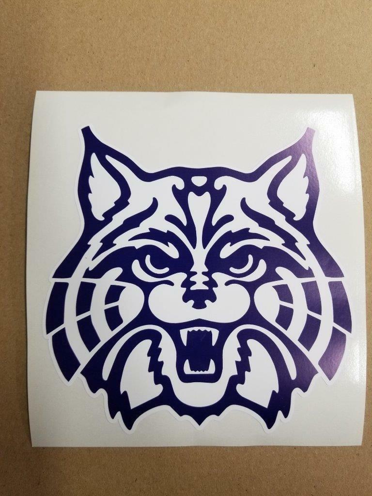 Arizona Wildcats cornhole board or vehicle  decal(s) NCAA AW4  good reputation
