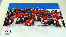 Team Canada Men's Centre Ice 16x20 Photo 2014 NHL Hockey Winter Olympics Gold