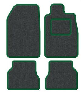 Daihatsu-YRV-01-04-Velour-Anthracite-Green-Trim-Car-mat-set