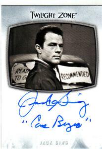 2020 Twilight Zone Archives Inscription Autographs #AI35 Jack Ging AUTO